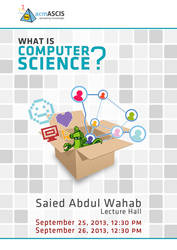 What's Computer Science 2013/2014