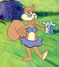 Sandy Cheeks Bikini by bubbaking