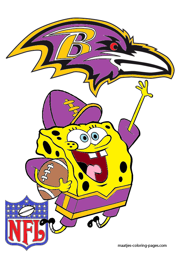 Spongebob Baltimore Ravens By Bubbaking On Deviantart