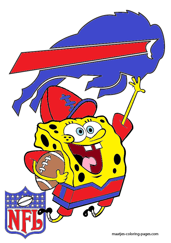 Spongebob Buffalo Bills By Bubbaking On Deviantart