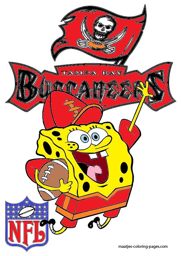 SpongeBob Tampa Bay Buccaneers by bubbaking on DeviantArt