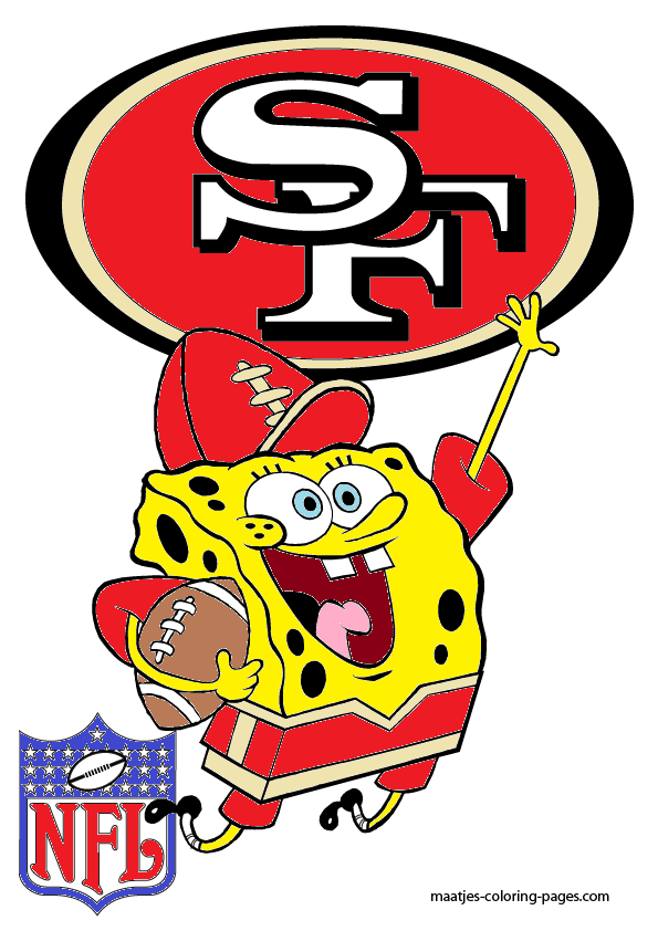Spongebob San Francisco 49ers By Bubbaking On Deviantart