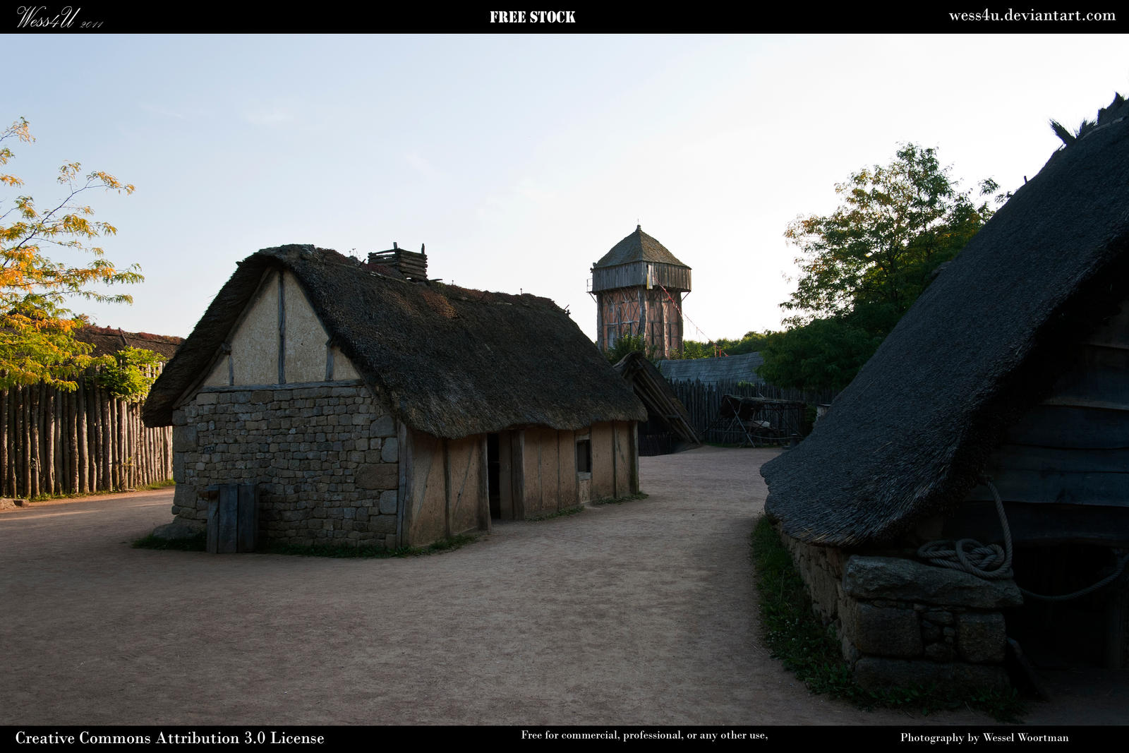 Medieval village 4 by Wess4u