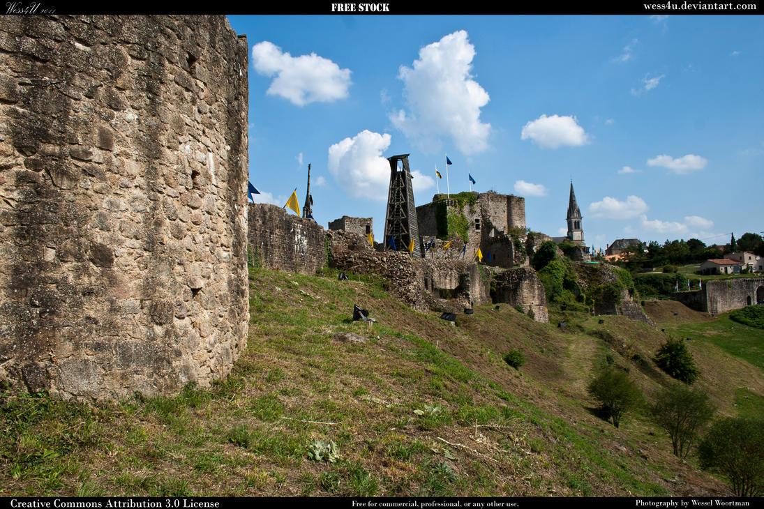 Castle Tiffauges 3 by Wess4u