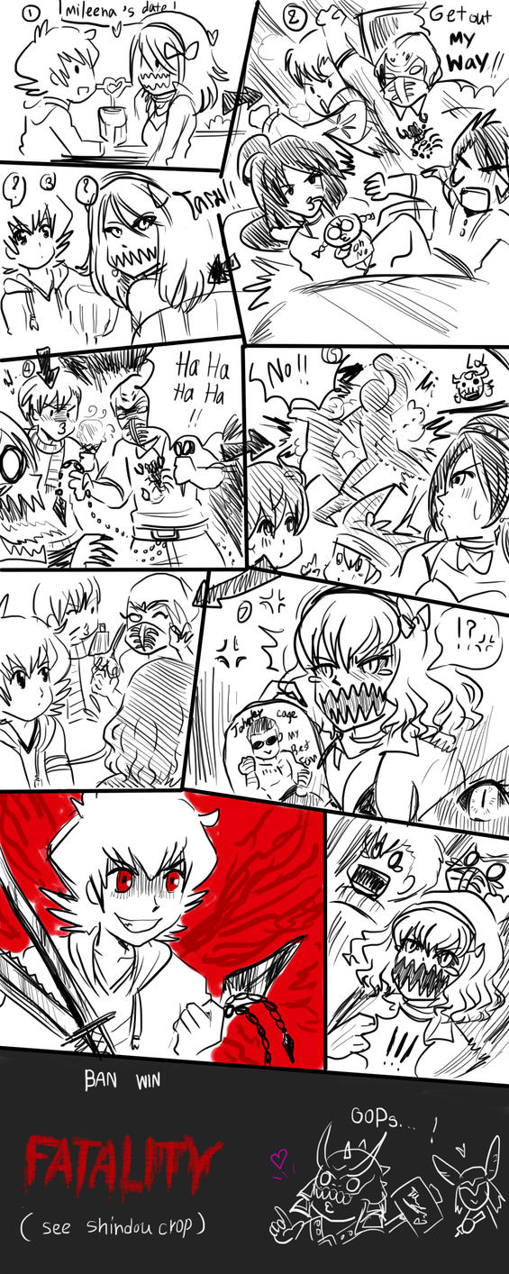 mileena 's date ? by zzzsan