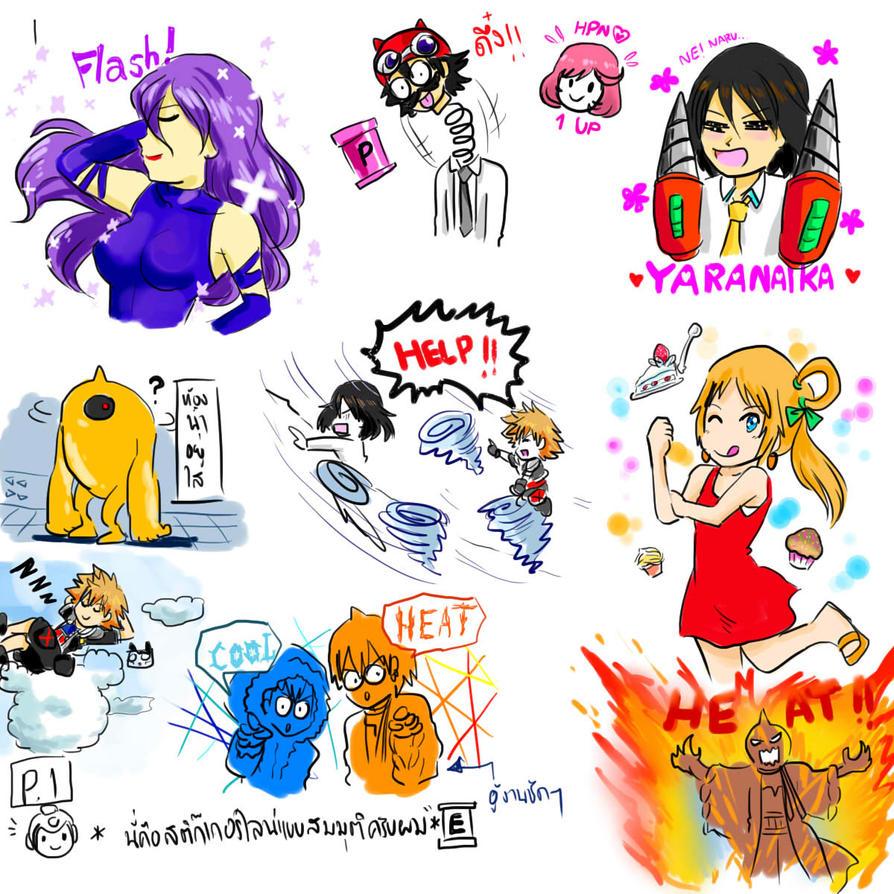 sticker funny by zzzsan