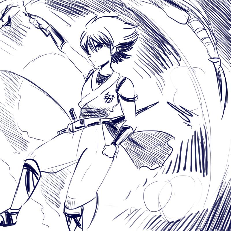 Strider Hiryu by zzzsan