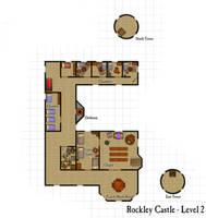Rockley Castle - Second Floor by DarthAsparagus