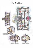 Dol Guldur by DarthAsparagus