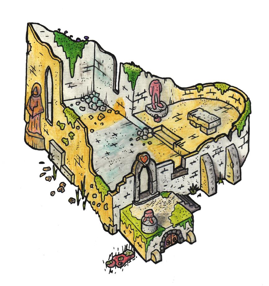 Ruine der Kapelle by DarthAsparagus