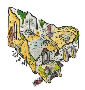 Ruine der Kapelle