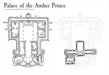 Palace of the Amber Prince by DarthAsparagus