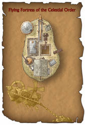Flying Island by DarthAsparagus