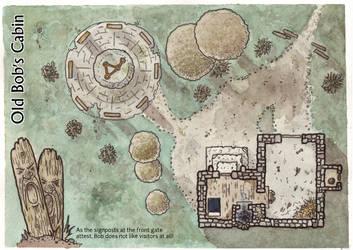 Old Bob's Cabin by DarthAsparagus