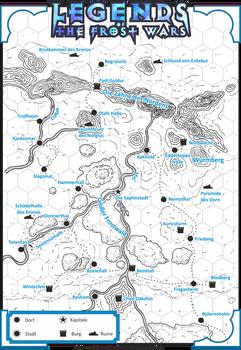 Frost Wars Karte - Spieler
