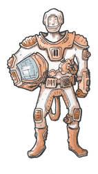 Cosmonaut col