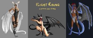 Flight Rising - Commissions [2-4]