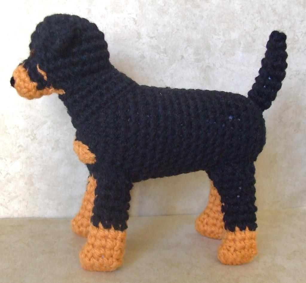 Tinkerbell Amigurumi Free Pattern : Rottweiler by TheCraftFrog on DeviantArt