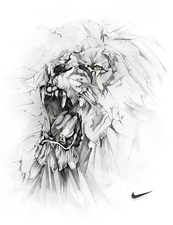 Nike Lion By Alexis Marcou by MuhammadRiza ...