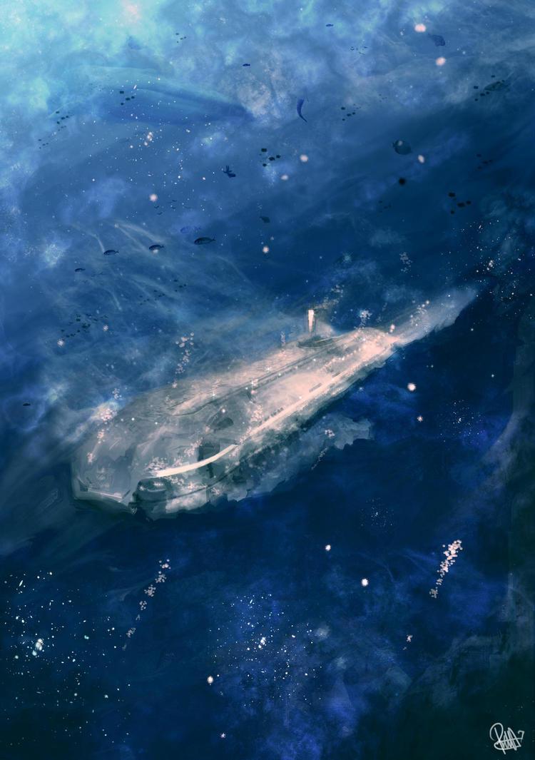 Underwater Terror by MuhammadRiza