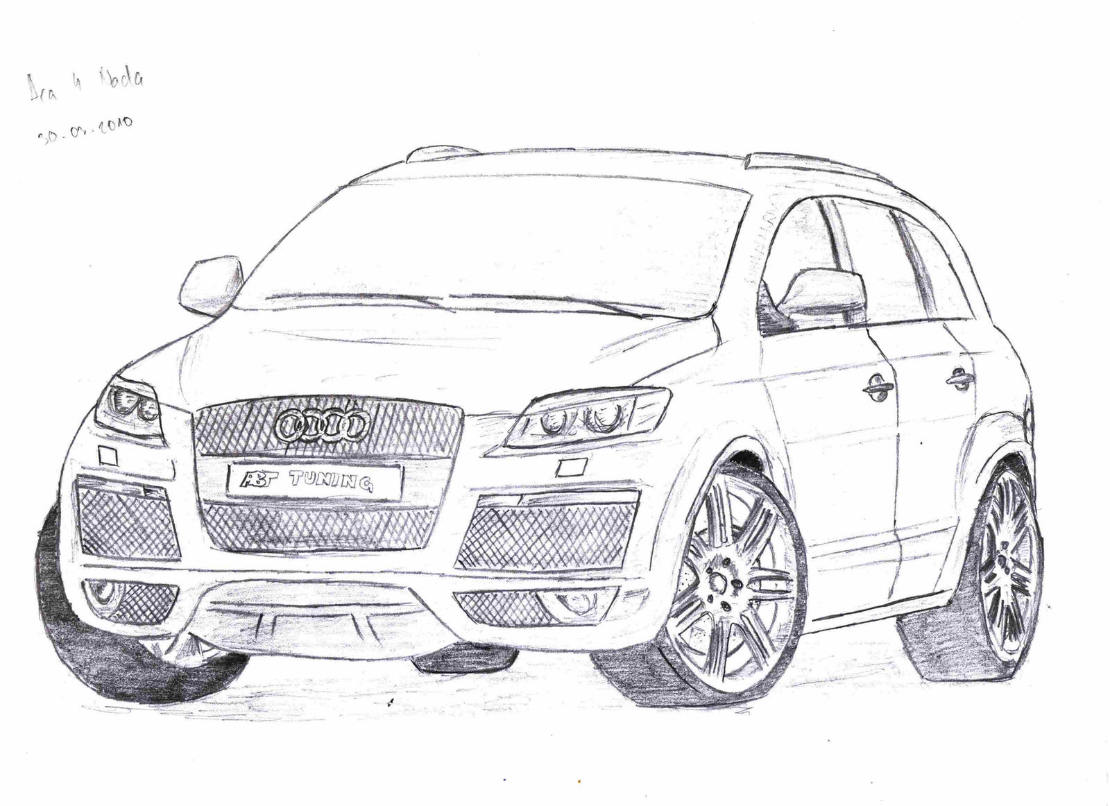 How To Draw Audi
