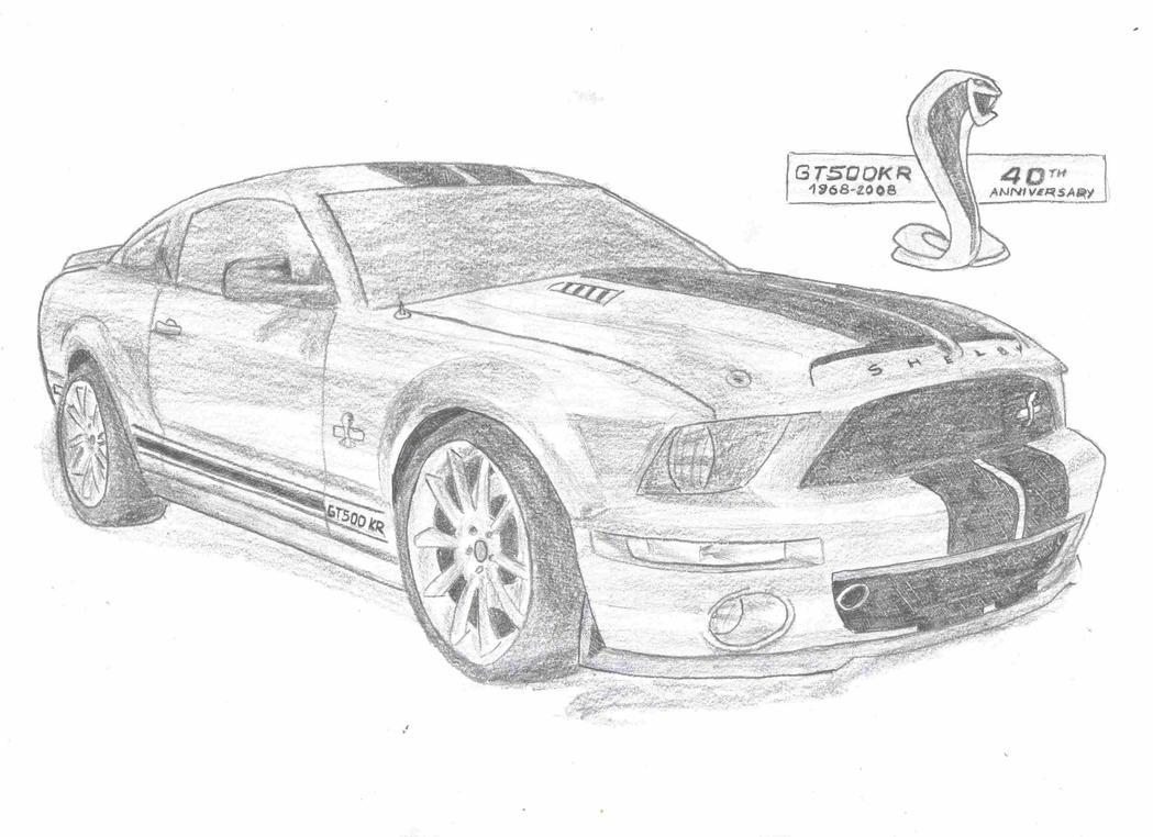Shelby Gt500 Kr By Pizdexxx On Deviantart