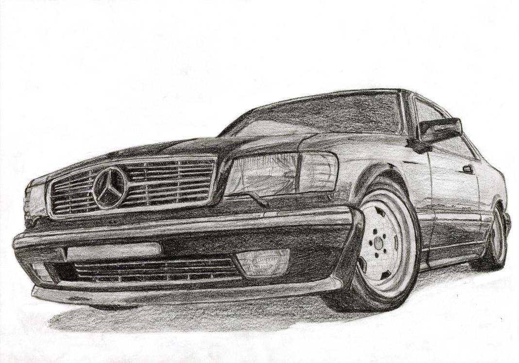 W126 Art Mercedes Benz Forum