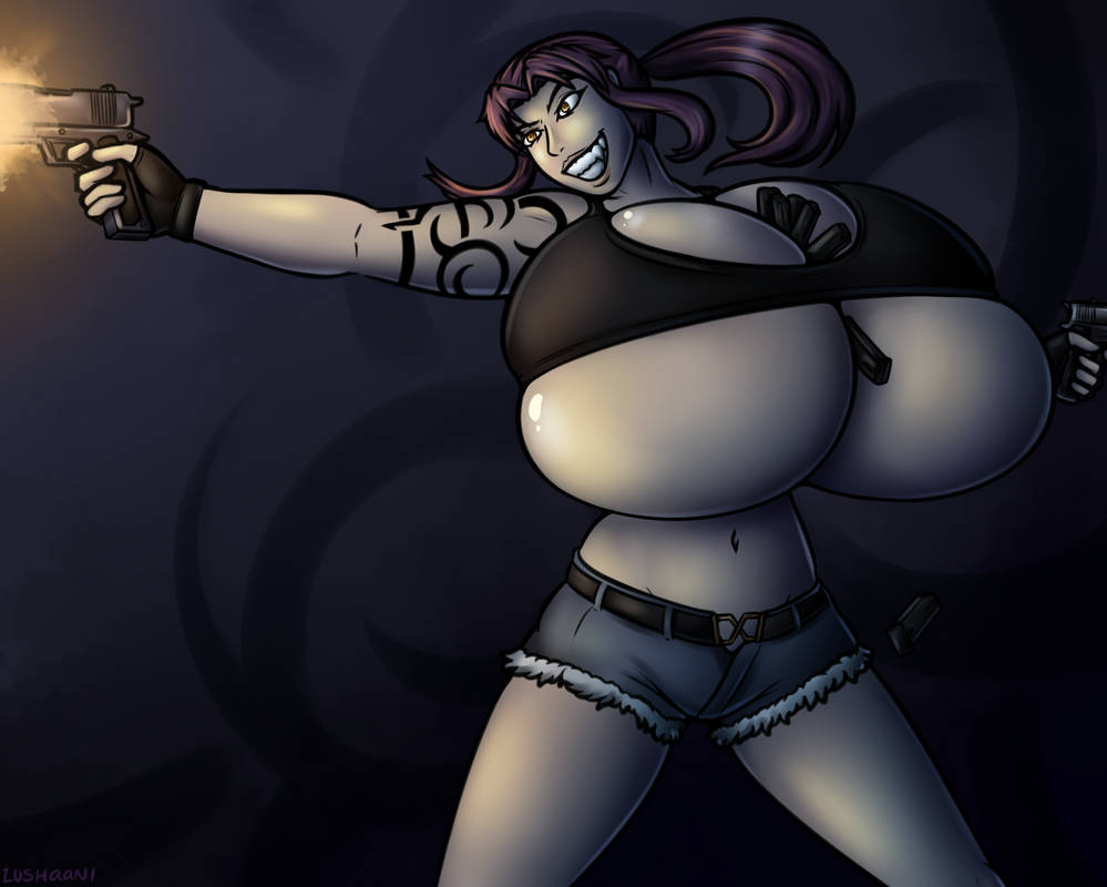 Fanart Friday: Revy, Twohands! by Lushaani