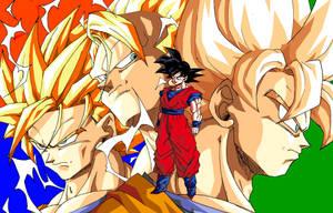 Goku's Transformations