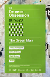 15th Drum Obsession - Poster