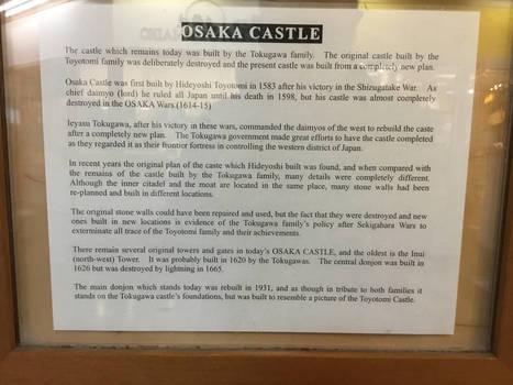 Osaka Castle Description
