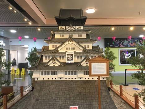 Osaka Castle Model