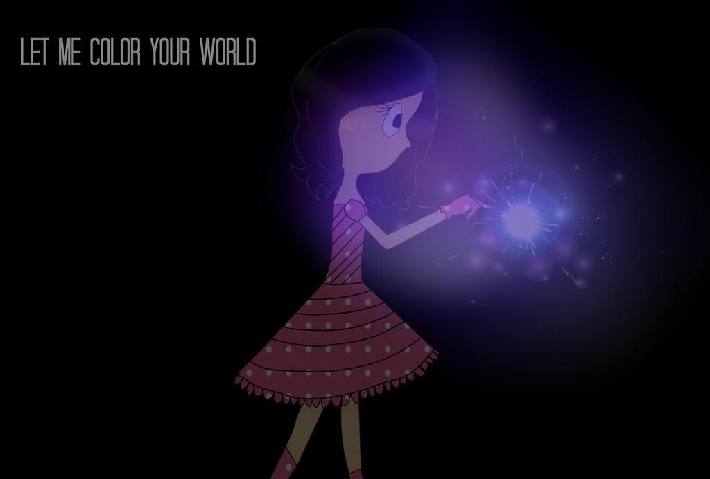 Www Let Me Color Com: Let Me Color Your World By Majinick On DeviantArt