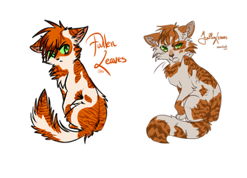 Fallen Leaves   Warrior cats
