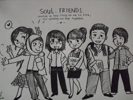 Coretan asal : Soul friends