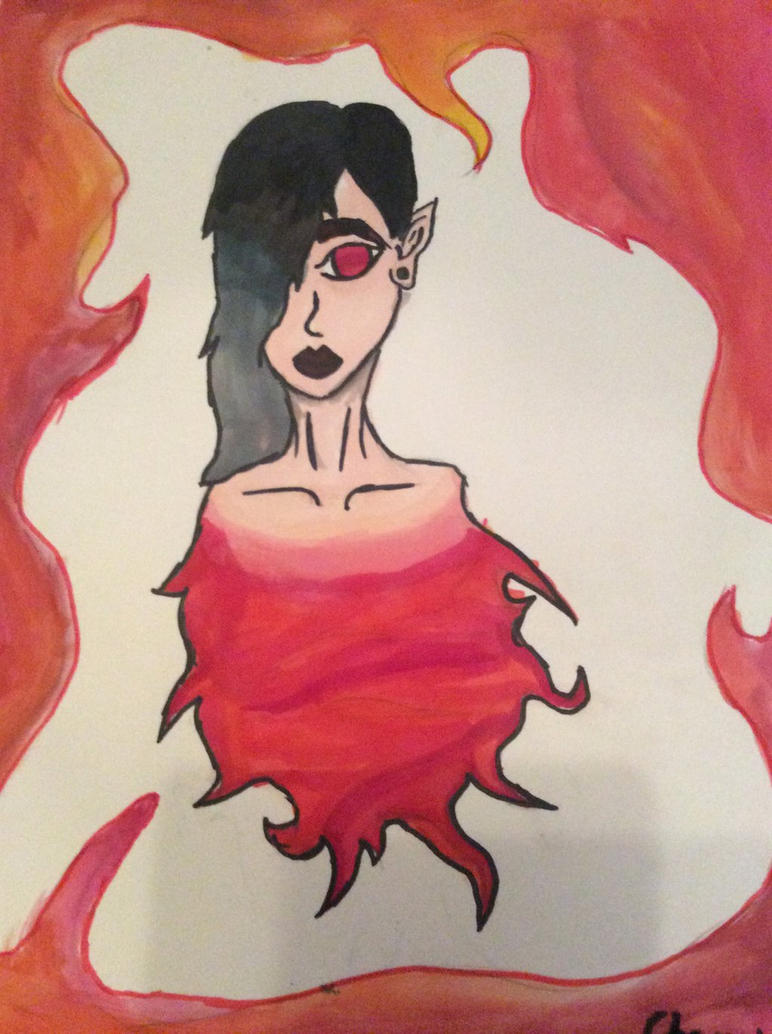Elements: fire  by puunkz