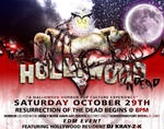 Event Flyer - The Hollywood Undead