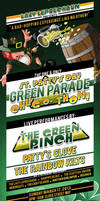 Green Parade - St. Patrick's Day Themed Flyer
