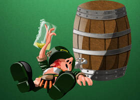 Lazy Leprechuan - Lazy Chugged Out by CauseThought