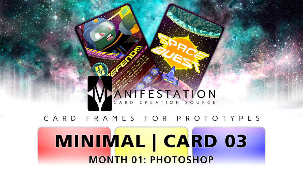 Month 01: Card 03 - Photoshop (Minimal   SciFi) by CauseThought