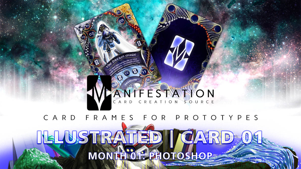 Month 01: Card 01 - Photoshop (Illustra   Fantasy) by CauseThought