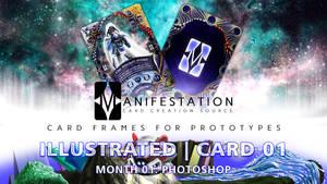 Month 01: Card 01 - Photoshop (Illustra   Fantasy)