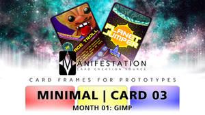 Month 01: Card 03 - GIMP (Minimal   SciFi)