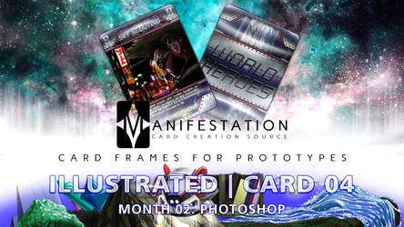 Month 02: Card 04 - Photoshop (ILL. | Current Era) by CauseThought
