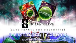 Month 03: Card 07 - Photoshop (Illustra. | Sci-Fi)