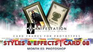 Month 03: Card 08 - Photoshop (Styles+FX | Tarot)