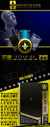 Modern Age: Military Themed Card Templates by CauseThought