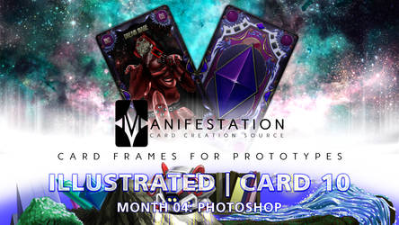 Month 04: Card 10 - PHOTOSHOP (Illustrate | Tarot) by CauseThought