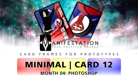 Month 04: Card 12 - Photoshop (Minimal | Current) by CauseThought