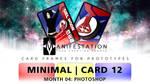 Month 04: Card 12 - Photoshop (Minimal | Current)